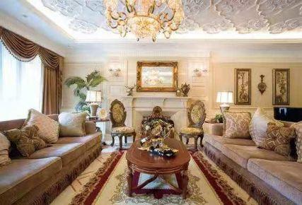 无锡新古典主义四室装修,有着优雅而庄重的设计内涵
