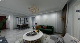 廊坊洛克公馆轻奢风两室装修,理想生活就应该这样精致!