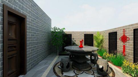 廊坊金海城現代簡約三居室裝修案例展示