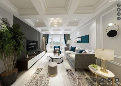 廊坊現代輕奢風四居室裝修,給你一個有質感的家!