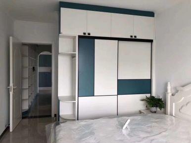 廊坊小清新地中海風格兩室裝修案例效果圖