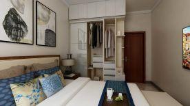 廊坊固安凡尔赛现代风格二居装修,繁华都市人的舒适回归