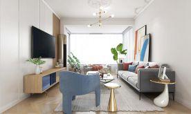 南宁嘉和城布洛可106平米极简风格四室装修,是一种精致生活的体现