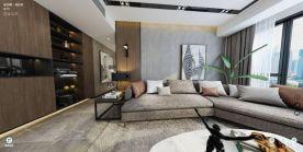杭州极简风格三室装修,高级又简约时尚