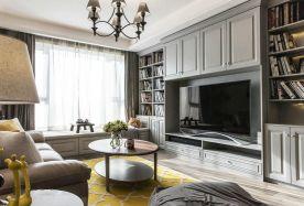 杭州創一居裝飾惠都家園現代簡約風格的裝修效果圖