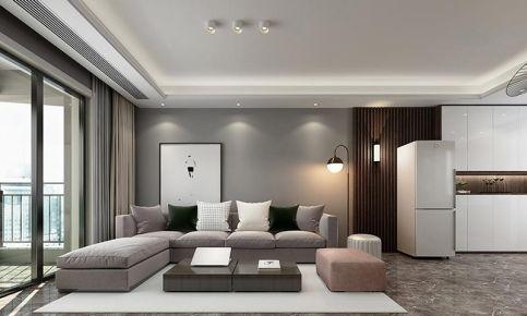 南寧榮和悅瀾山92平米現代簡約四居室裝修設計