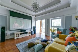 福州溫馨美式風格別墅裝修案例圖