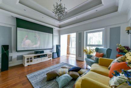 福州温馨美式风格别墅装修案例图