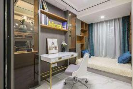 青岛现代轻奢三居装修案例,恰到好处的精致!