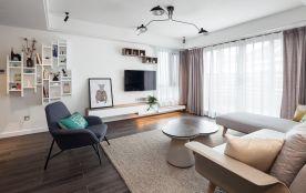 福州北歐風復式裝修,塑造簡雅空間,聆聽時尚箴言