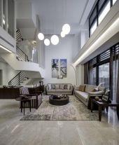呼和浩特時尚現代風格四居室裝修效果圖