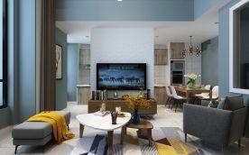 太原恒大未來城140㎡復式北歐風裝修,簡簡單單,舒適自然