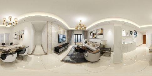 珠海現代風格三室裝修案例,優雅大氣很高級!