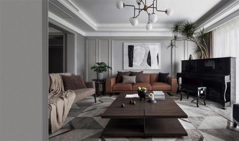 杭州现代风格四居室装修,删繁去奢,虽简不凡