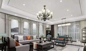 漳州古典雅致新中式四室裝修效果圖展示