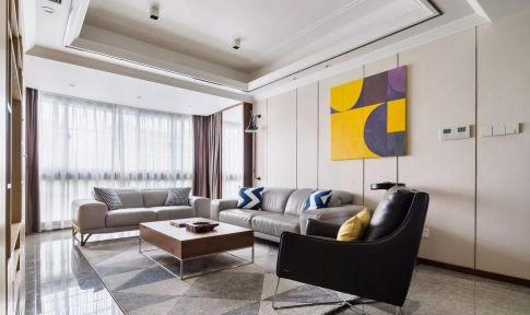 福州160㎡复式现代简约风格装修,打造简单时尚又不失温馨的家!