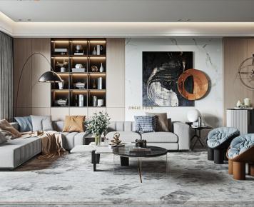 赣州轻奢北欧风三居室装修,打造精致理想生活
