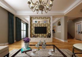 福州140平美式三居装修,优雅精致超有质感