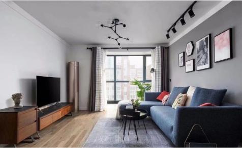 太原得一剑桥城120㎡小面积大变化,粉色婚房现代简约风装修