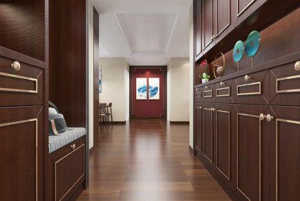扬州新中式风三居装修案例,化繁为简,别具一格的东方美