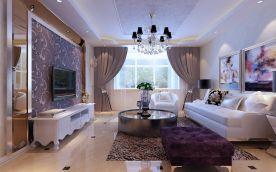 天津市金隅满堂三室简欧风装修设计,享受生活轻奢新主义