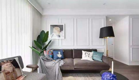 西寧現代風格大氣簡約三居室裝修效果圖