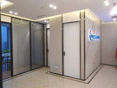 杭州时尚大气简约办公室装修设计案例