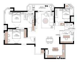 徐州现代简约风三居装修案例,极简的设计,极简的生活