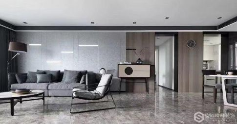 徐州簡約風兩室裝修,用黑白灰打造質感高級國際范!