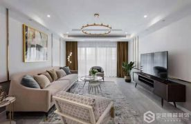 徐州美式风格三室装修,时尚精致,小资格调满满!