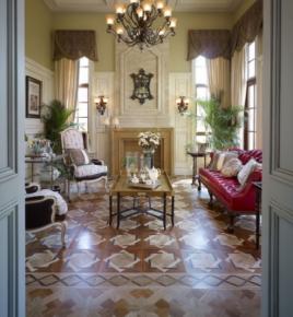 成都新津亞特蘭蒂斯精致優雅復古歐式風格別墅裝修效果圖