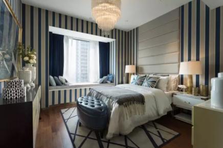 成都雅居樂精致輕奢現代風格四居室裝修效果圖