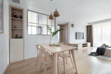 东莞简约北欧风格三居室装修效果图展示