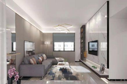 東莞現代簡約三居室裝修效果圖展示