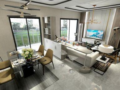 东莞现代简约风格三居室装修效果图案例展示