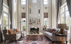 成都麓山国际复古欧式宫廷风格别墅装修效果图
