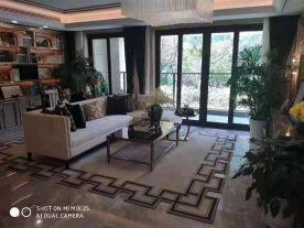 西安東方美裝飾現代與中式結合別墅裝修案例圖