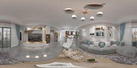 中山北歐風格三居裝修案例,簡單生活簡單愛