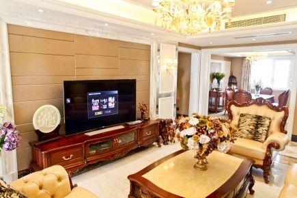 南京复古欧式风格别墅装修案例设计效果图