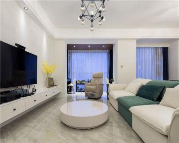 太原130平米现代风格三室装修,浪漫雅致,浅唱低吟,尽述时光美好婚房