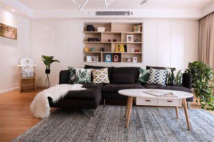 太原120平简欧风三室装修,简约并不简单,我知道一定是你喜欢的