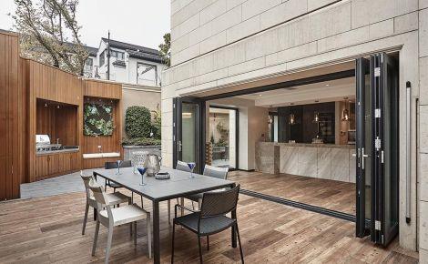 杭州富春玫瑰园现代轻奢风格别墅装修,艺术感性的美学空间