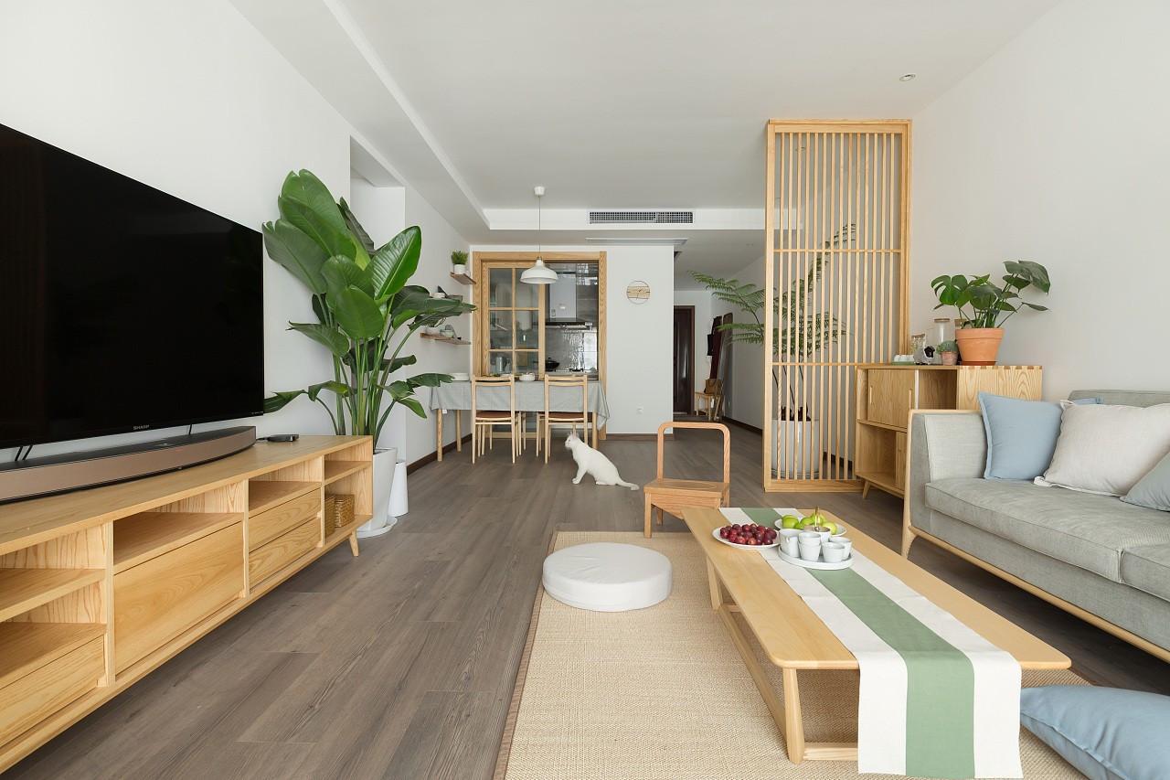 太原117㎡日系风格二居装修,一念置家,无问东西