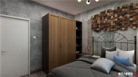 青岛阅海府邸混搭风格二居室装修效果图
