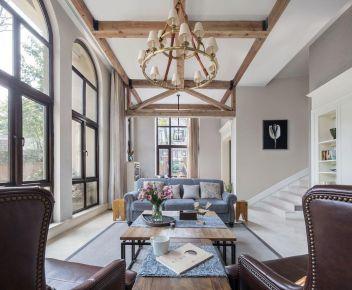 福州美式鄉村風格別墅裝修,精致優雅的空間讓人一見傾心!
