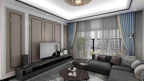 【深度空间】惠州大欣世纪花园 107㎡现代风格三室装修案例图