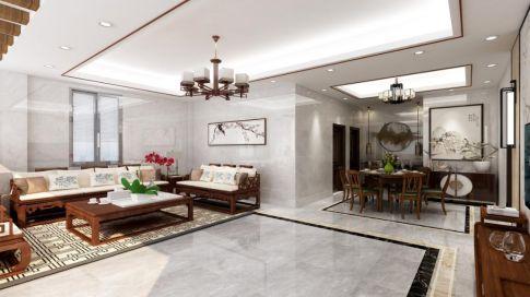 【深度空间】惠州三栋新联村自建房129㎡现代风格三室装修效果图