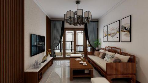 【深度空间】惠州双城国际-南区107㎡现代风格三室装修案例