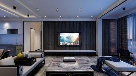 黔南品質現代風格四居室裝修案例效果圖
