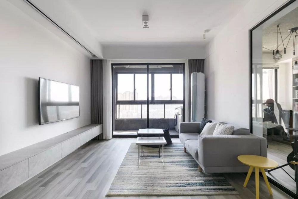 太原93㎡簡約風三居室裝修,盡顯極致美感